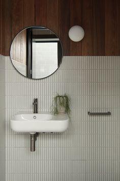 Home Interior Salas .Home Interior Salas Bathroom Inspo, Bathroom Inspiration, Master Bathroom, Bathroom Trends, Washroom, Bathroom Storage, Bathroom Ideas, Chic Retro, Style Deco