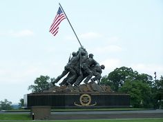 Frieling in D.C. and France: National Archives and Iwo Jima Memorial - 6/22/11