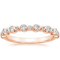 14K Rose Gold Isla Diamond Ring (1/4 ct. tw.) from Brilliant Earth