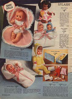 1969 Sears Baby Dolls
