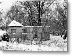 #Desolate And #Dilapidated Metal Print By Bonfire #Photography