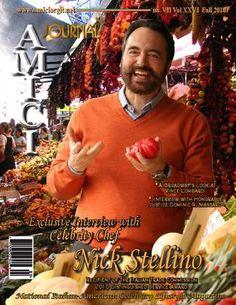 Italian Cooking, Italian Recipes, Italian Foods, Nick Stellino, Journal Publication, Celebrity Magazines, Chef Recipes, Recipies, Vince Lombardi
