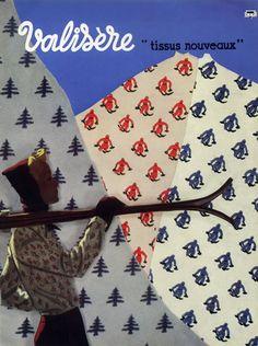 Valisère (Textiles) 1938 Skiing