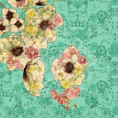 wallpaper by Ximena Escobar from IMGS..maybe globe cut out for pattern