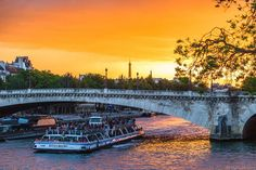 "Michel✨Content Creator/📷Canon on Instagram: ""Blinding light🌟✨✨ • This rare evening intense light on Paris river banks remembers us all why the golden hour is called golden!😃🙌🙌 A such…"""