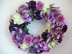Purple Lovers Wreath