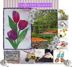 """THE SECRET GARDEN: HANDMADE CREATIONS"" by andreadesigns1 on Polyvore"