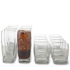 Libbey® Carrington 16-pc. Glassware Set