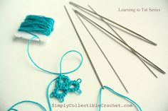 Difference between Shuttle Tatting, Needle Tatting and Cro-tatting - Simply Collectible