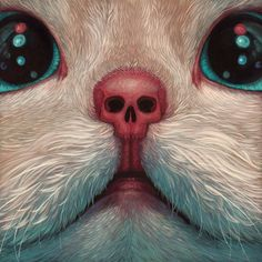 Casey Weldon crafts surreal, sometimes absurd paintings that play with the everyday and the otherworldly alike. The artist, based in Washington, D.C., is featured in a new show at Thinkspace Galler…