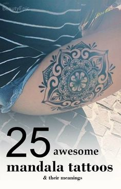25 Awesome Mandala Tattoo Designs & Meanings Simple Gallery to Choosing Your Tattoo   400 *Princess*
