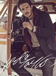 Justice Joslin GQ | Justice Joslin for Lord and Taylor Fall/Winter 2014 | CoverMen Mag