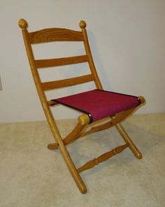 Civil War Folding Chair by PaWoods on Etsy, $150.00