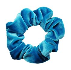 Neon Blue Velvet Scrunchie Ponytail Holder Hair Accessories Made in the USA in Clothing, Shoes & Accessories, Women's Accessories, Hair Accessories Scrunchies, Ponytail Scrunchie, Wardrobe Images, Blue Neighbourhood, Velvet Scrunchie, Ponytail Holders, Blue Velvet, Hair Ties, Hair Accessories