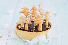Tarte au chocolat forêt de sapins by Carnets Parisiens