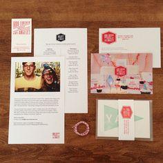 Stationary via anatomy of a press kit Print Design, Web Design, Graphic Design, Typography Design, Branding Design, Media Kit, Print Packaging, Stationery Design, Packaging Design Inspiration