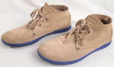 DIESEL Shoes Mens Leather Lace Up Size 13 Casual Suede Tan #DIESEL #LaceUp #shoes #suede