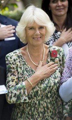 Camilla, Duchess of Cornwall poses for a photo as she visits Fundacion Camino A Casa, a human trafficking shelter during an official visit to Mexico on November 03, 2014, in Mexico City, Mexico. Prince Chrales, Prince of Wales and Camilla, Duchess of Cornwall are on the second day of a four day visit to Mexico as part of a Royal tour to Colombia and Mexico.
