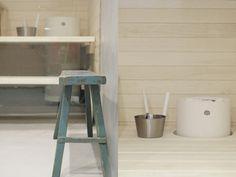 Tulikivi Kuura sauna heater beauty of life: tontilla Electric Sauna Heater, Sauna Room, Extra Seating, Garden Furniture, Benches, Simple Designs, Lifestyle, Space, Bathroom