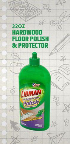 Hardwood Floor Polish and Protector