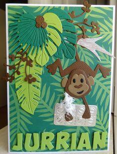 Scrapcard girls Marianne Design Cards, Punch Art Cards, Elizabeth Craft, Animal Cards, Kids Cards, Crazy Cats, Shadow Box, Birthday Cards, Scrapbooking