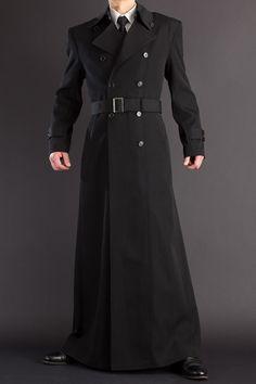 超ロングコート長い着丈155cm、【ナポレオンコート 155   ロングコート・マント販売 uenoya】