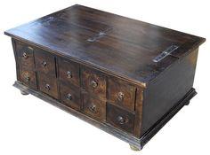 big black chest coffee table - Google zoeken