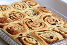 Cinnamon-Raisin Whirls by pncriss, via Flickr