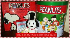 Enter to Win a PEANUTS Holiday Prize Pack