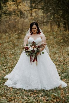 This fall wedding at the Red Tin Barn was stunning. The deep fall colors were the perfect choice for an autumn wedding. Fall Bouquets, Bride Bouquets, Fall Wedding Colors, Autumn Wedding, Theatre Wedding, Wedding Inspiration, Wedding Ideas, Davids Bridal, Designer Wedding Dresses