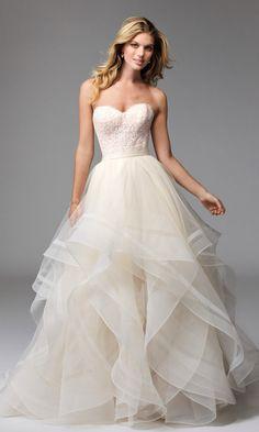 Effie (style 17622), Wtoo by Watters. Wedding dresses under £1000 #weddingdress