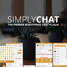 The SimplyChat WordPress plugin integrates with BuddyPress to make the automated creation and management of live group chats on your website easy. Wordpress Plugins, Girl Boss, Speakers, Management, Invitations, Group, Website, Live, Creative