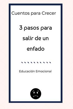Cómo ayudar a los niños a salir de un enfado? qué podemos hacer?  #emociones #educaciónemocional #enfado #rabia Positive Psychology, Psychology Facts, Emotions Activities, Activities For Kids, Teaching Reading, Learning, Emotional Intelligence, School Counseling, Health Coach