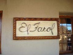 El Farol Spanish Restaurant, Canyon Road, Santa Fe, NM Jan 2012