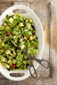 Cooking is Crazy: Southwestern Avocado and Black Bean Salad
