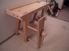 Work Bench Build #6: Tool Well and Leg Vise - by Mosquito @ LumberJocks.com ~ woodworking community