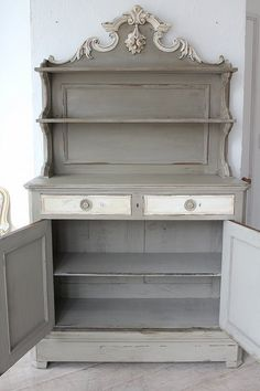 HiFi Table Shabby Chic Buffet De Television TV Armoire