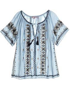 Take our quiz to discover your Spirit Print! Alberdi Cotton Peasant Blouse.