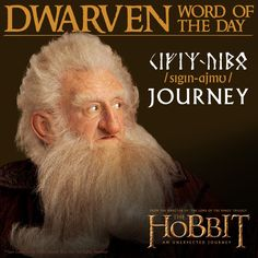 Dwarven word of the day: Journey.