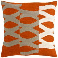 Jonathan Adler Bargello Waves Wool Pillow | AllModern