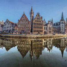 by kfazely: Amazing Gent #belgium_unite #igbelgium #igersbelgium #igersbelgique #igerslln #igerskortrijk #igersnamur #visitbelgium #visitflanders #belgium #belgië #belgique #persian #visitgent #gent #afghan #city_explore #timelapse #reflections @worlderlust