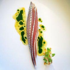 Mackerel & Daikon. ✅ By - @tadashi_takayama ✅ #ChefsOfInstagram www.ChefsOf.com