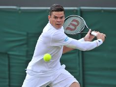 Result: Milos Raonic makes Wimbledon final at expense of Roger Federer #Wimbledon #Tennis