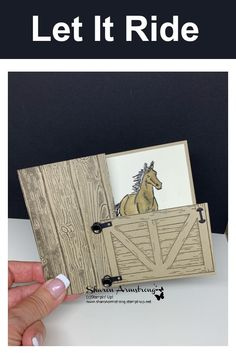 Make a birthday card for Dad that will leave him feeling special! Really this card can be made for any guy or horse lover in your life. Horse Birthday, Cowboy Birthday, Kids Birthday Cards, Handmade Birthday Cards, Diy Birthday, Handmade Cards, Hand Made Greeting Cards, Making Greeting Cards, Masculine Birthday Cards