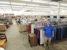John Steburg is the manager of the new Salvation Army Family Store in Ames, which is located in the Lincoln Center next to Hobby Lobby. The store is scheduled to open on Friday, June 19. Photo by Michael Crumb/Ames Tribune  http://amestrib.com/news/salvation-army-open-new-store-ames