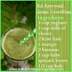 Kid Approved Green Smoothies #greensmoothies #healthykids #breakfastideas #kidseatinggreens #eatwell #kids Australian Food, Recipe Creator, Spinach Leaves, Smoothie Ingredients, Green Smoothies, Happy Kids, Healthy Kids, Eating Well, Fruit