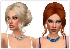 Maimouth: Glitter Love Necklace • Sims 4 Downloads