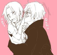Sasosaku<3 How lucky you're, Sakura :3 got a boy like him