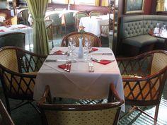 Das Bord-Restaurant von MS Königstein