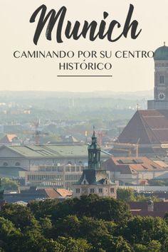 Guía completa para ver las mejores cosas en el centro histórico de Munich, Alemania. Worlds Largest, Europe, Places, Movie Posters, Travel, Trips, Babe, Maps, Germany Travel